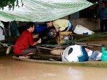 Xã hội - Thanh Hóa: Nguy cơ vỡ đê sông Bưởi, hàng nghìn người dân trắng đêm chạy lũ