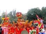 Xã hội - Hàng nghìn người dân về Thủ đô xem lễ hội Gò Đống Đa