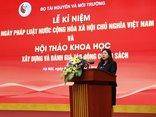 Điểm nóng - Bộ Tài nguyên & Môi trường tổ chức Lễ kỷ niệm Ngày Pháp luật Việt Nam
