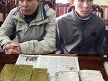 An ninh - Hình sự - Bắt 2 đối tượng vận chuyển 20 bánh ma túy dùng dao chống trả công an