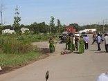 An ninh - Hình sự - Điều tra vụ phát hiện thi thể người đàn ông bên bãi cỏ
