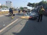 Tin nhanh - Va chạm với xe tải, người đàn ông đang trên đường đi làm tử nạn