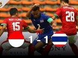 Thể thao - Clip: U22 Thái Lan thi đấu bế tắc trước U22 Indonesia