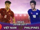 Thể thao - Trực tiếp U22 Việt Nam vs U22 Philippines: Tuấn Anh 'đóng thế' Xuân Trường