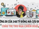 Pháp luật - [Infographic] Đường đi của 348 tỷ cựu ĐBQH Châu Thị Thu Nga chiếm đoạt