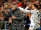 Bóng đá Quốc tế - Mourinho: Không ghi 5 bàn trong hiệp một nên... thua