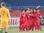 Bóng đá Việt Nam - Clip: U23 Việt Nam ăn mừng trong phòng thay đồ và lời cảm ơn đầy cảm xúc của Quang Hải