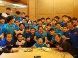 Bóng đá Việt Nam - Sau chiến tích, U23 Việt Nam ngủ sớm để chuẩn bị cho trận tiếp theo