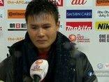 Bóng đá Việt Nam - Clip: Quang Hải không cầm được nước mắt sau trận đấu