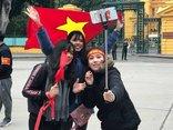 Bóng đá Việt Nam - [Chùm ảnh] Những bóng hồng trong ngày đón U23 Việt Nam trở về