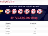 Tiêu dùng & Dư luận - Kết quả xổ số Vietlott ngày 18/10: Tìm thấy chủ nhân Jackpot gần 50 tỷ đồng