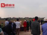 An ninh - Hình sự - Nam Định: Phát hiện thi thể cô gái trẻ trong cống giữa cánh đồng
