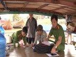 Điểm nóng - Cảnh sát môi trường bắt 6 ghe hút cát trái phép trên sông Thu Bồn