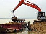 """Điểm nóng - Dai dẳng nạn """"cát tặc"""" trên sông Thu Bồn"""