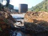 Điểm nóng - Điện Biên: Vỡ bể chứa nước thải nhà máy chế biến sắn