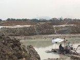 Điểm nóng - Quảng Ninh: Núp bóng dự án xây dựng khu dân cư để khai thác cát trái phép?