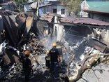 Tiêu điểm - Máy bay rơi trúng nhà dân ở Philippines khiến nhiều người thiệt mạng