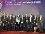 """Tài chính - Ngân hàng - VietinBank và """"cú ăn 3"""" tại Vietnam Country Awards 2018"""