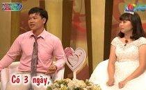 Giải trí - Cặp đôi quyết định cưới sau 3 ngày yêu nhau khiến MC 'đứng hình'