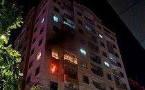 Mới- nóng - Hà Nội: Cháy chung cư Vinaconex hàng trăm người hoảng loạn tháo chạy