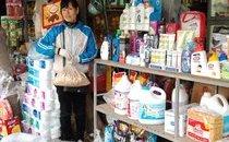 Dân sinh - Hà Nội: Chợ Tết len lỏi trong khu tập thể