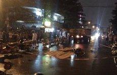 Video - Clip: Hiện trường vụ va chạm xe máy khiến 3 công nhân tử vong