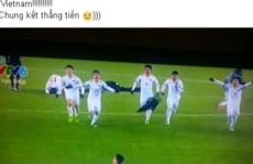 Cộng đồng mạng - Cộng đồng mạng gửi triệu triệu lời chúc mừng tới đội  tuyển U23 Việt Nam