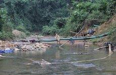 Điểm nóng - Nghệ An: Nóng tình trạng xẻ núi đào sông để khai thác vàng
