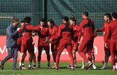 Thể thao - Chùm ảnh: Liverpool tràn đầy tự tin trước đại chiến với Man Utd