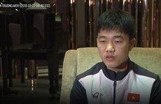 Bóng đá Việt Nam - Clip: Xuân Trường 'bắn' tiếng Anh trên AFC về trận đấu với Qatar