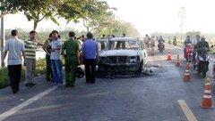 An ninh - Hình sự - Bắt 6 nghi phạm trong vụ đốt ô tô tại Hậu Giang làm 1 người chết