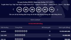 Tiêu dùng & Dư luận - Kết quả xổ số Vietlott ngày 19/11: Jackpot 16 tỷ vẫn 'vô duyên'