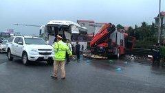 Xã hội - Uỷ ban An toàn giao thông Quốc gia chỉ đạo nóng vụ xe cứu hoả va chạm xe khách