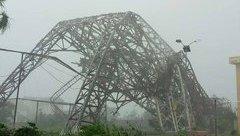 Chính trị - Xã hội - Làm rõ nguyên nhân tháp truyền hình 100m ở Hà Tĩnh đổ sập trong bão