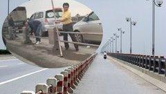 An ninh - Hình sự - Xác minh, truy tìm tài xế tháo rào chuyển làn trước chốt CSGT để tránh bị xử lý