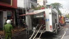 Chính trị - Xã hội - TP.HCM: Cháy cửa hàng sơn, 1 người chết, 2 bỏng nặng