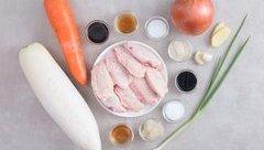 Gia đình - Món ăn ngon mỗi ngày: Củ cải trắng hầm thịt gà ngon, hấp dẫn