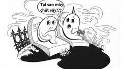 Cộng đồng mạng - Trưa cười: Chuyện của hai con ma