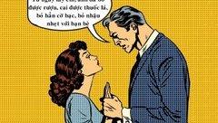 Cộng đồng mạng - Sáng cười: Hôn nhân giúp chồng trở nên lương thiện