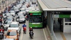 Xã hội - Hà Nội: Bất ngờ đề xuất cho xe đi vào làn buýt nhanh BRT