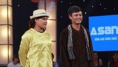 Giải trí - Thách thức danh hài: Cặp đôi đi thi quên thoại khiến giám khảo cười ngất