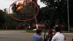 Mới- nóng - Clip: Khoảnh khắc máy bay của Cuba nổ tung khi lao xuống đất