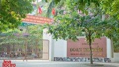 Giáo dục - Hà Nội: Học sinh trường Đoàn Thị Điểm ngã từ tầng 2 xuống đất