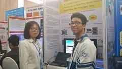 Giáo dục - Học sinh Hải Dương sáng chế robot trinh sát và chống khủng bố