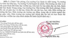 """Xi nhan Trái Phải - Thưa Bộ trưởng Phùng Xuân Nhạ: Cấp dưới không """"trình Bộ trưởng để báo cáo""""?"""