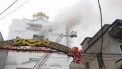 Tin nhanh - Cháy lớn tại 'thiên đường giải trí' bậc nhất Hà Tĩnh: Sơ tán dân, phòng toà nhà đổ sập