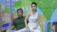 Giải trí - Giây phút thân mật hiếm hoi của Cẩm Ly và ông xã Minh Vy