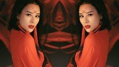 Giải trí - Vợ hot girl của Việt Hoàn đẹp ma mị, trổ tài cover nhạc phim