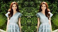 Giải trí - Hoa hậu Thu Thảo tái xuất xinh đẹp sau đám cưới với chồng đại gia