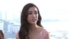 Ngôi sao - Mỹ Linh đối đáp tiếng Anh cực ấn tượng tại Miss World 2017